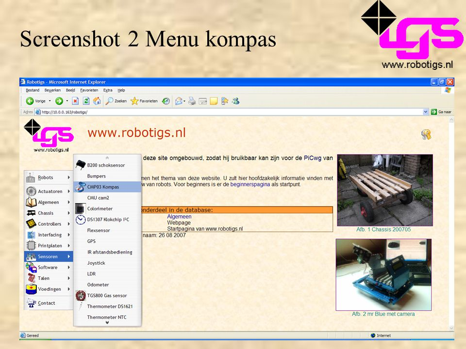 Screenshot 2 Menu kompas
