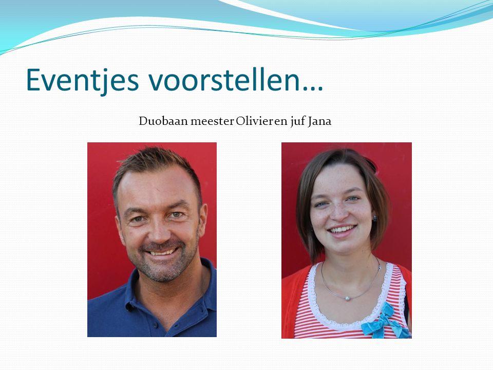 Eventjes voorstellen… Duobaan meester Olivier en juf Jana