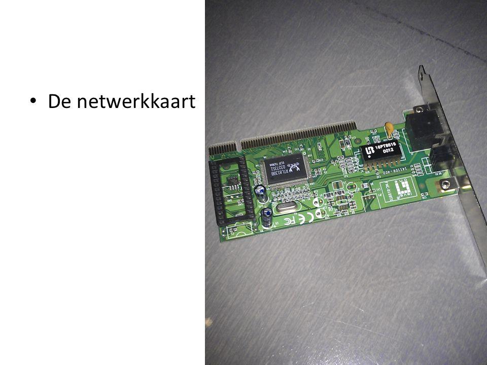 De netwerkkaart