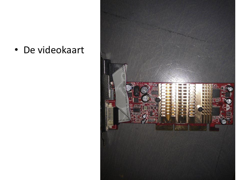De videokaart