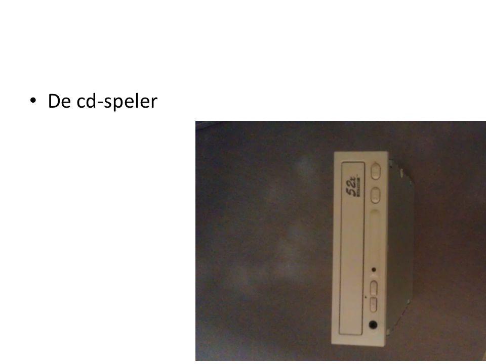 De cd-speler