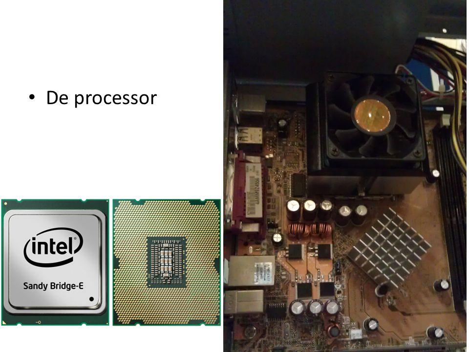 Processor CPU ( =centrale verwerkingseenheid ) Hart I4004