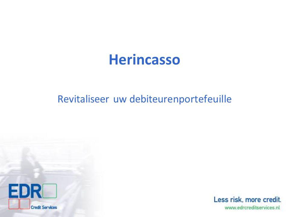 Herincasso Revitaliseer uw debiteurenportefeuille