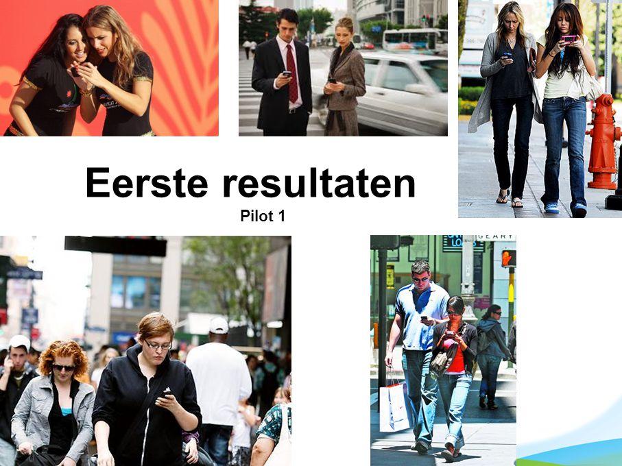 13 mei 2011 telefoonapplicatie voor COPD 31datum 11/04/11 datum 29/11/2010 Eerste resultaten Pilot 1