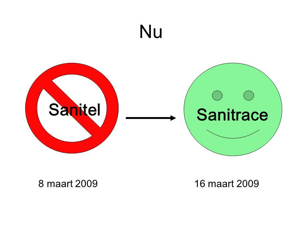 Nu Sanitel 8 maart 200916 maart 2009 Sanitrace