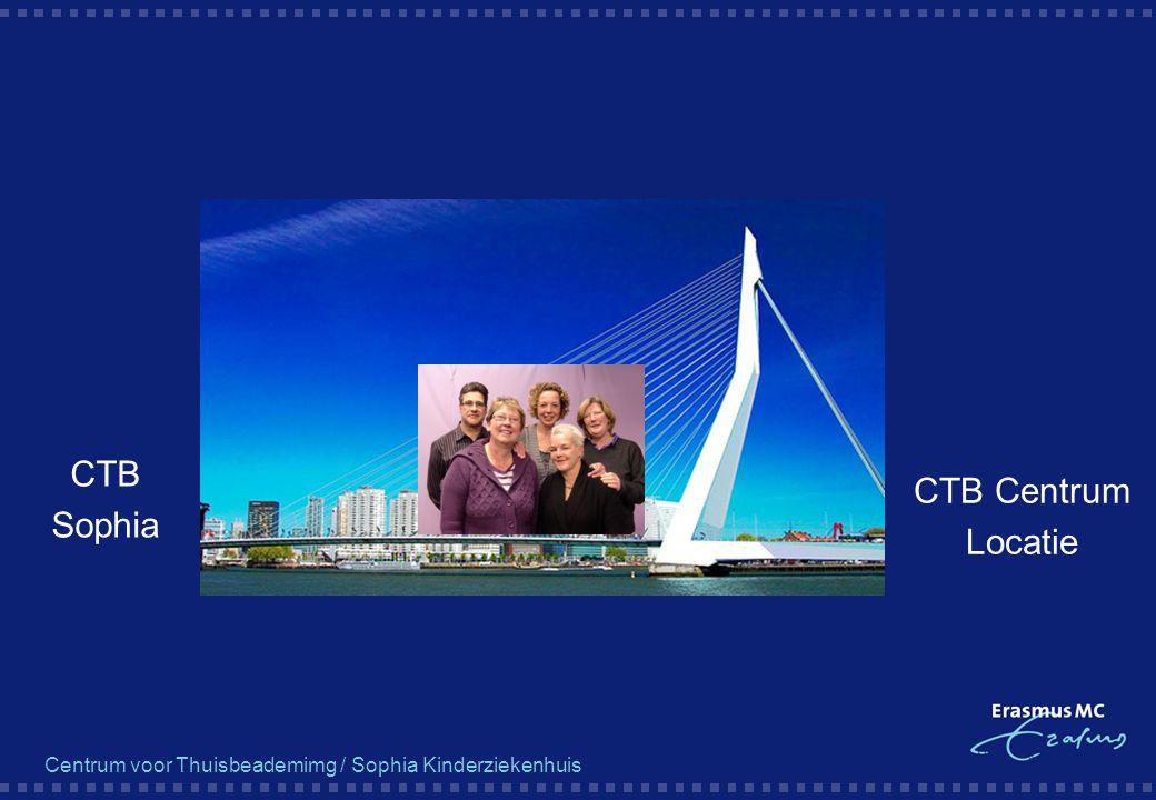 Centrum voor Thuisbeademimg / Sophia Kinderziekenhuis CTB Sophia CTB Centrum Locatie