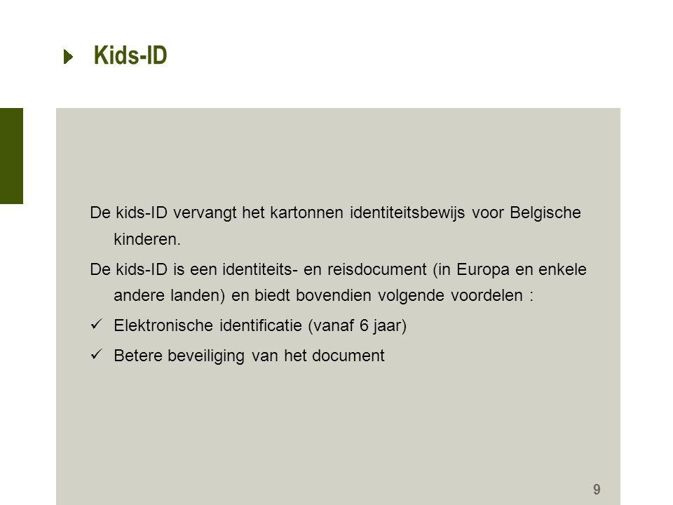 10 Kids-ID : 'Hallo Ouders' Telefoon-cascadesysteem waardoor een verloren kind snel weer in contact kan worden gebracht met zijn familie.