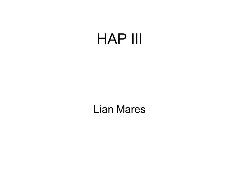 HAP III Lian Mares