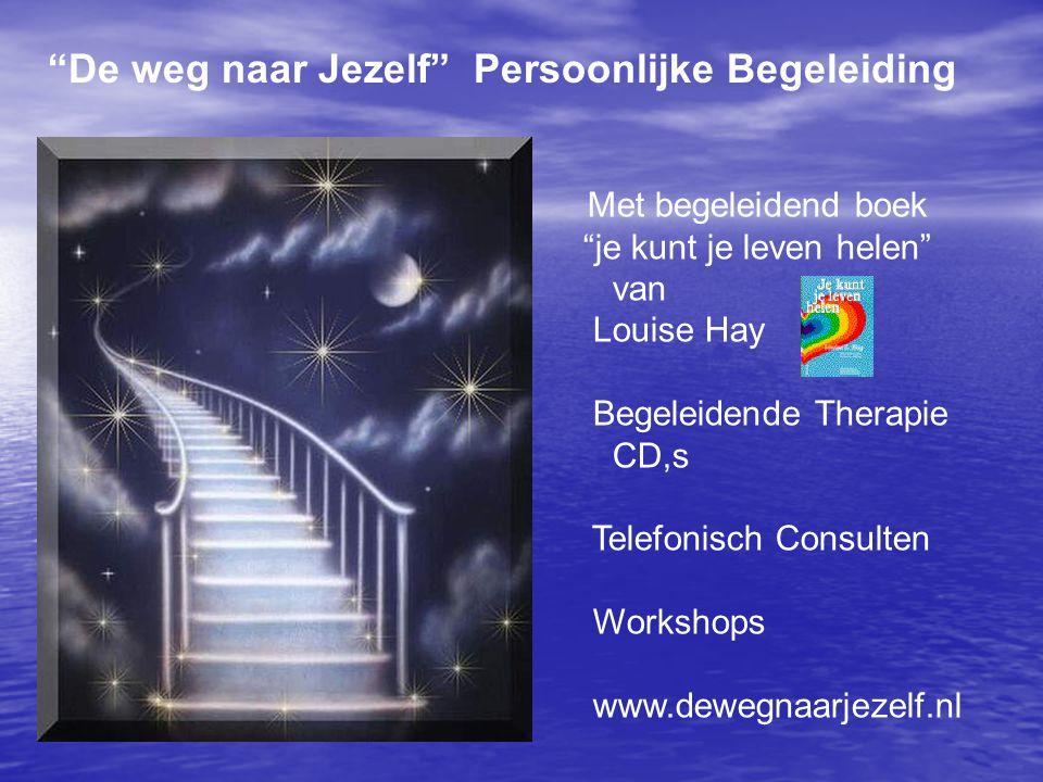 """""""De weg naar Jezelf"""" Persoonlijke Begeleiding Met begeleidend boek """"je kunt je leven helen"""" van Louise Hay Begeleidende Therapie CD,s Telefonisch Cons"""