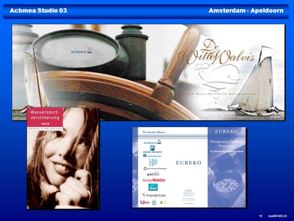 Achmea Studio 03Amsterdam - Apeldoorn stud081803.03 10
