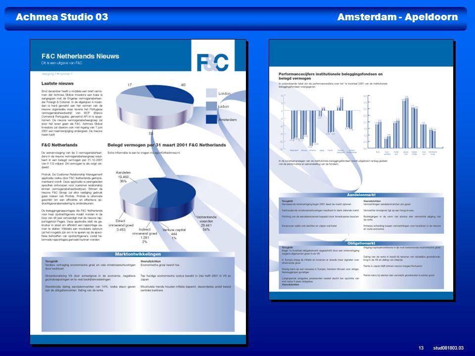 Achmea Studio 03Amsterdam - Apeldoorn stud081803.03 13