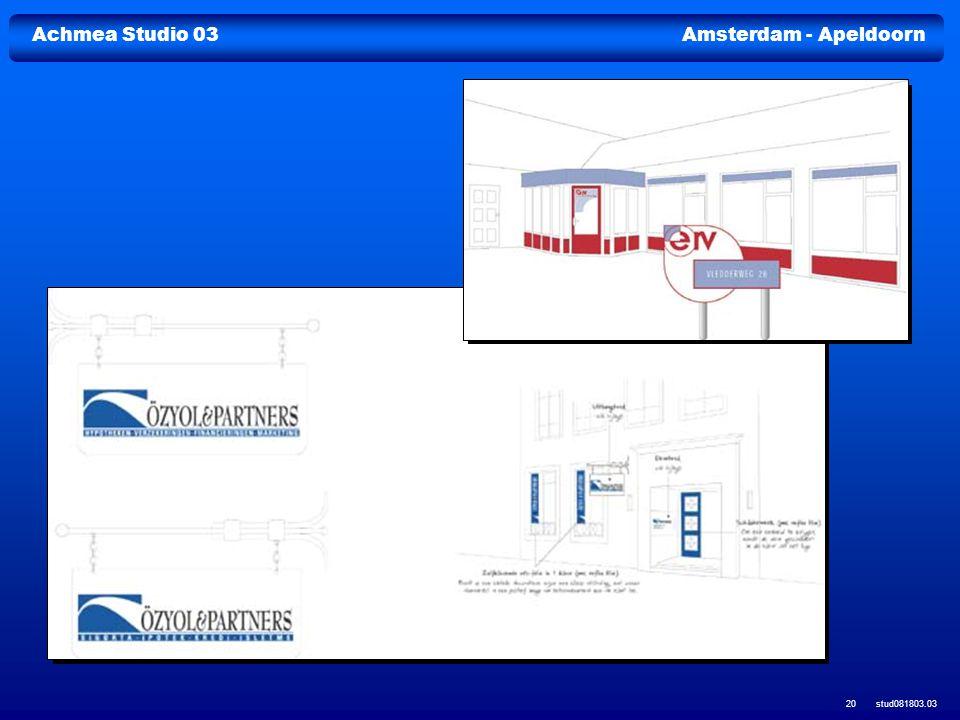 Achmea Studio 03Amsterdam - Apeldoorn stud081803.03 20
