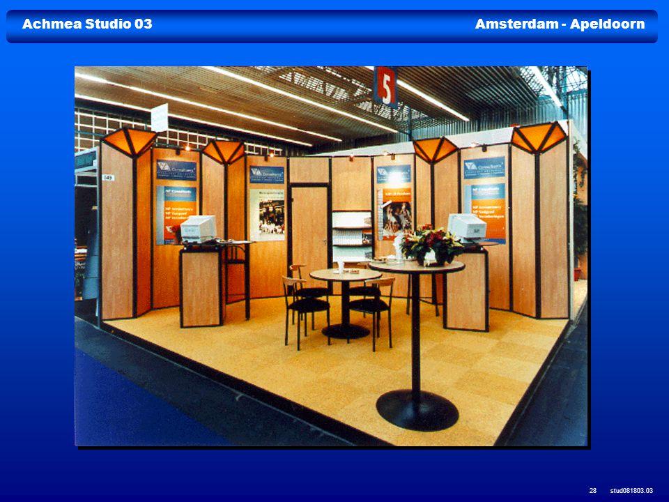 Achmea Studio 03Amsterdam - Apeldoorn stud081803.03 28