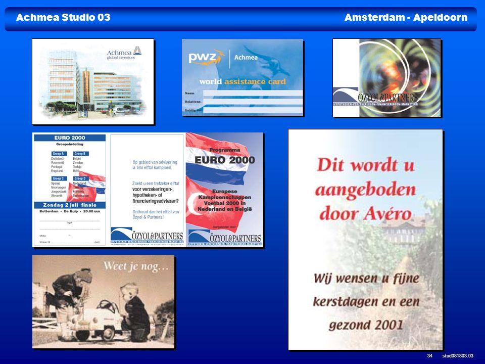 Achmea Studio 03Amsterdam - Apeldoorn stud081803.03 34