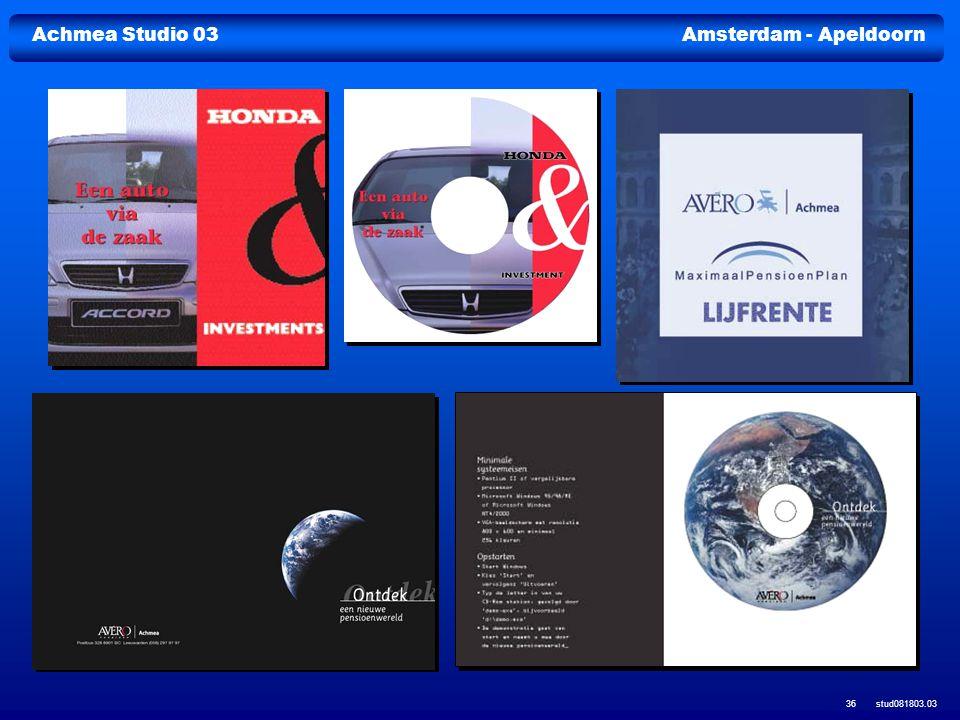 Achmea Studio 03Amsterdam - Apeldoorn stud081803.03 36