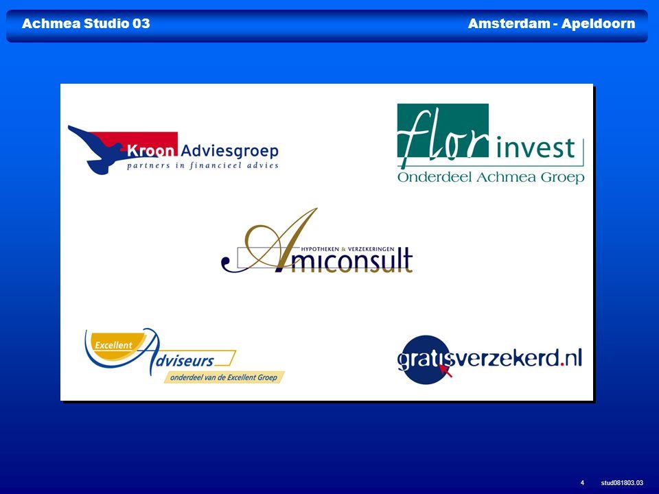 Achmea Studio 03Amsterdam - Apeldoorn stud081803.03 15