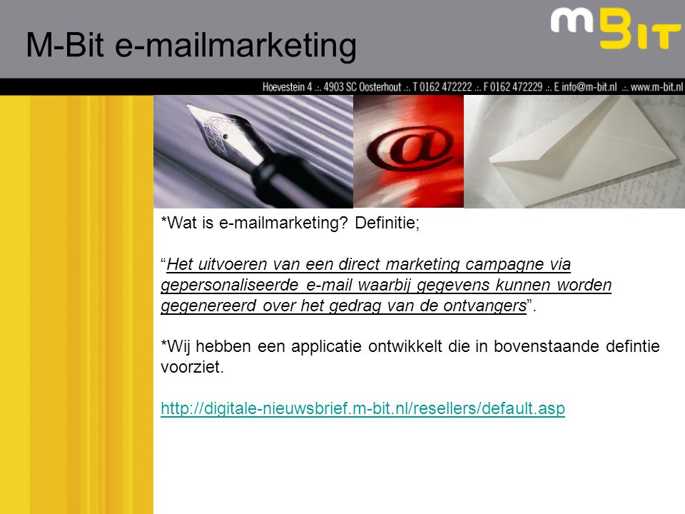 *Wat is e-mailmarketing.