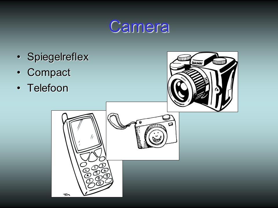 Camera SpiegelreflexSpiegelreflex CompactCompact TelefoonTelefoon