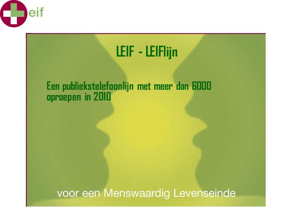 LEIF en permanente ondersteuning.intervisie-groepen.symposia.vormingen voor allerlei doelgroepen.medewerking aan initiatieven bv.