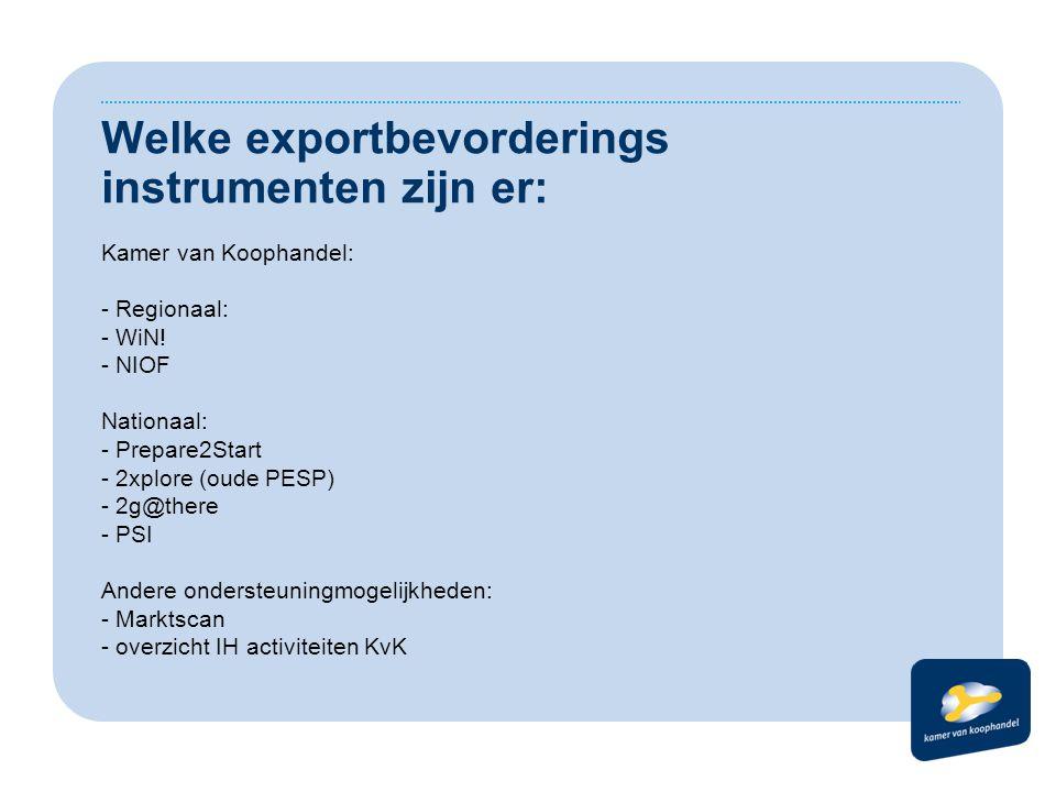 WiN.– Werken aan Internationalisering Noord Nederland.