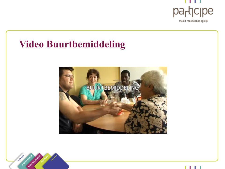 Video Buurtbemiddeling
