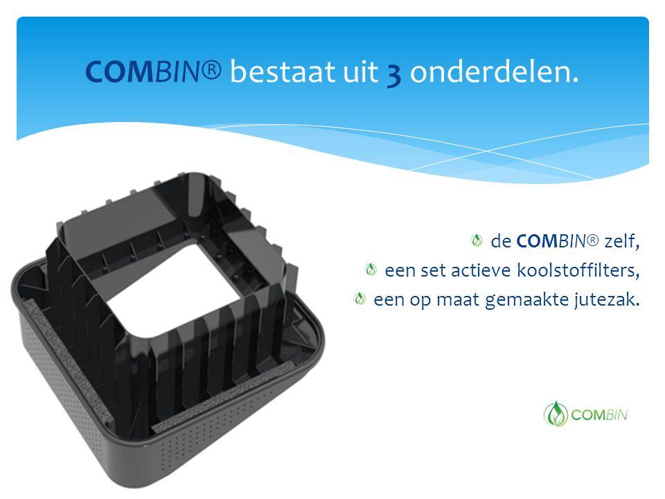 COMBIN® bestaat uit 3 onderdelen.
