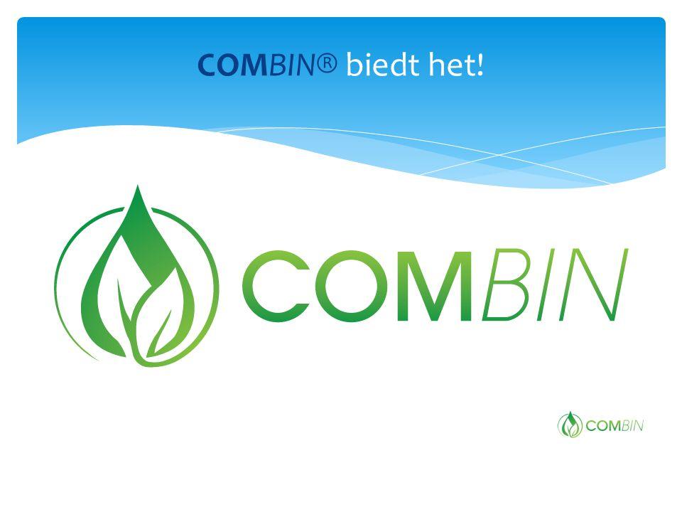 COMBIN® biedt het!