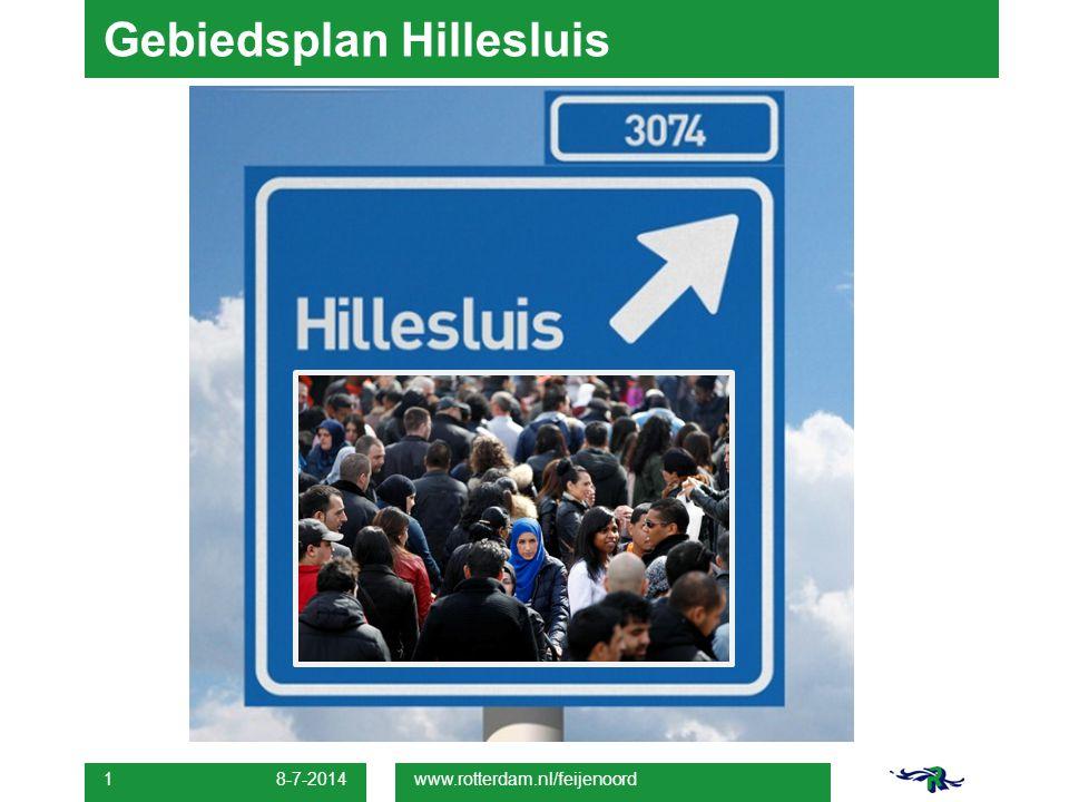 8-7-2014 1 Gebiedsplan Hillesluis www.rotterdam.nl/feijenoord