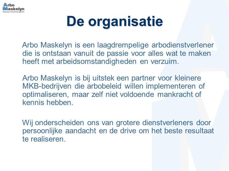 De organisatie Arbo Maskelyn is een laagdrempelige arbodienstverlener die is ontstaan vanuit de passie voor alles wat te maken heeft met arbeidsomstandigheden en verzuim.