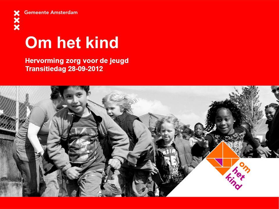 Om het kind Hervorming zorg voor de jeugd Transitiedag 28-09-2012