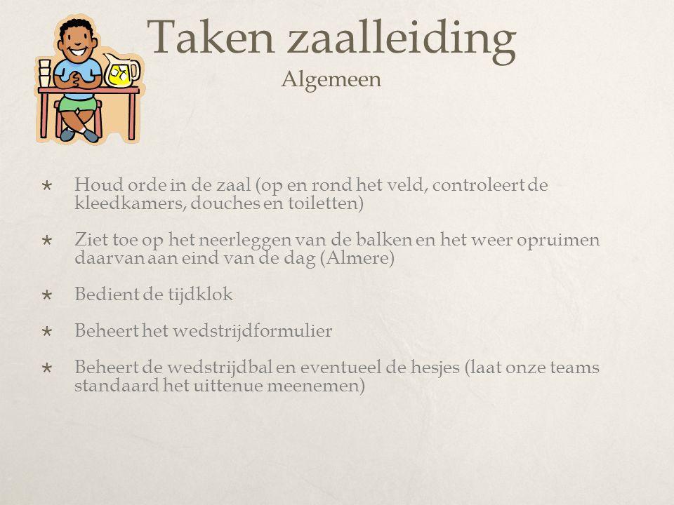 Tot slot 2/4  Belangrijke informatie over het zaalhockey naast de presentatie gegeven tijdens de zaalbriefing is te vinden op de site van de KNHB:  http://www.knhb.nl/knhb/districten/district+midden +nederland/zaalhockey/cDU832_Zaalhockey.aspx