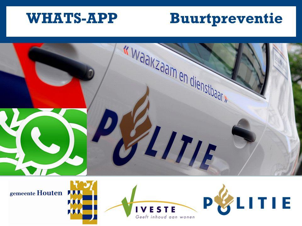 08 mei 2014WhatsApp Buurtpreventie Spelregels 1.