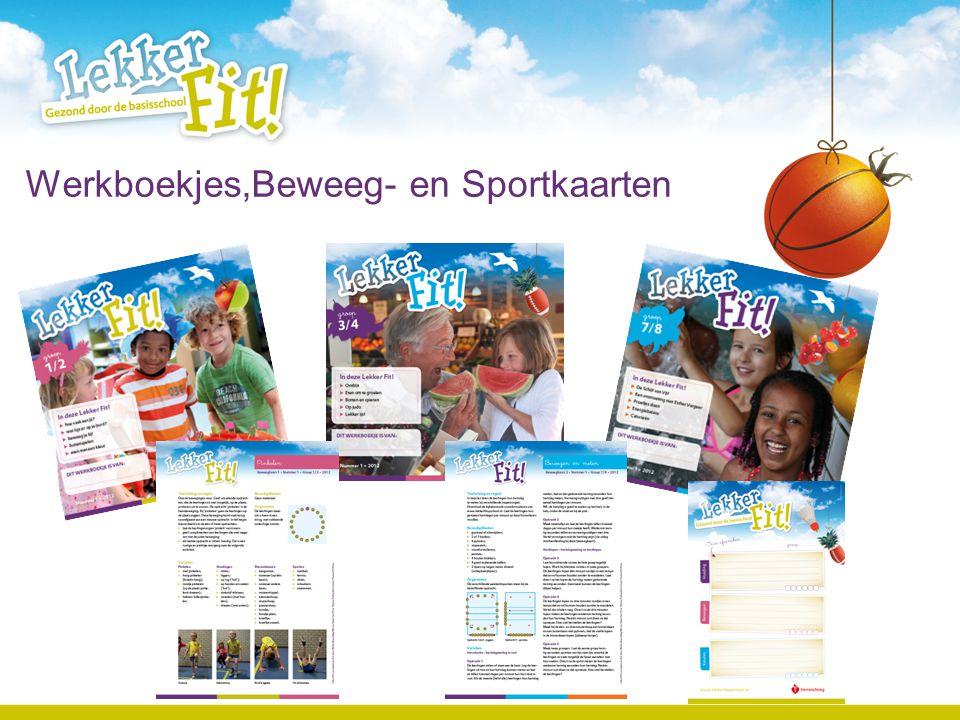 Werkboekjes,Beweeg- en Sportkaarten [