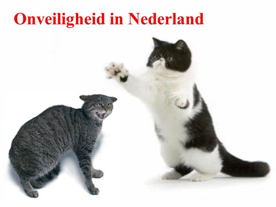 Beleving van onveiligheid [Bron: Politiemonitor ZW-Nederland – 2005]
