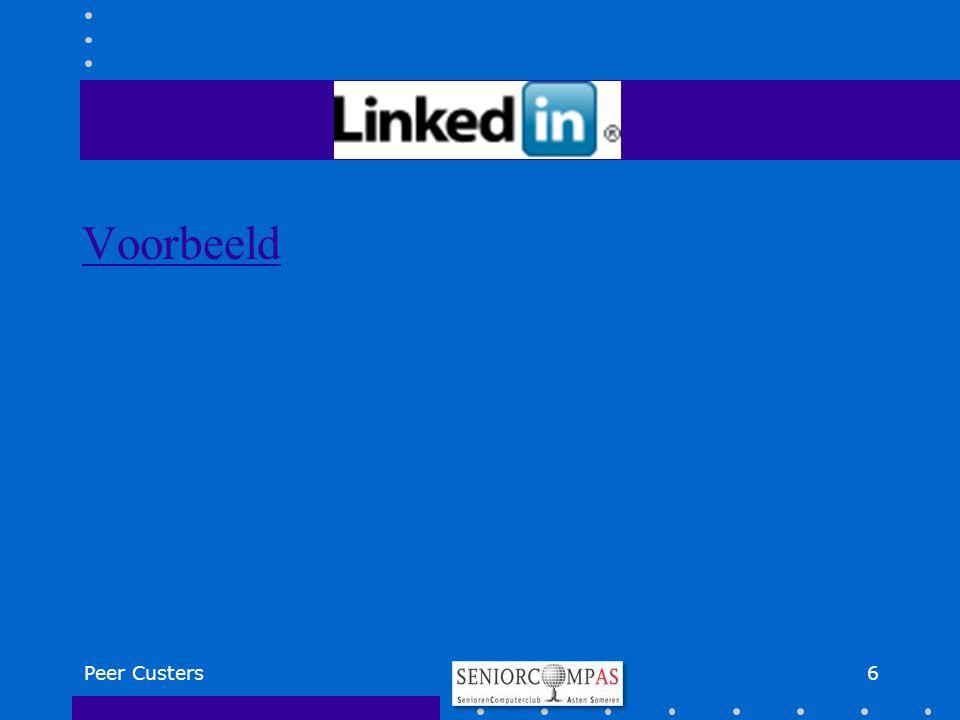'Onbekende' internettoepassingen 7Peer Custers