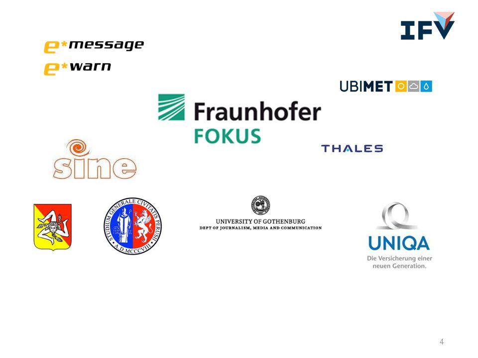2011- 2014 8 inhoudelijke werkpakketten, 53 'deliverables' 10 organisaties uit 6 landen maximaal € 2.500.000,- beschikbaar (N)IFV betrokken bij 5 deliverables (ca.