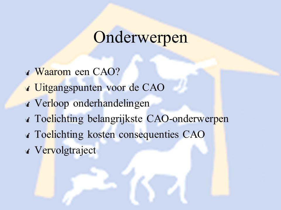 Vervolgtraject 3 Niet leden BPW kunnen geen gebruik maken van: - Overlegregeling arbeidstijdenwet - Afwijking Wet Flex en zekerheid - Afwijking opzegtermijnen - CAO wervend instrument