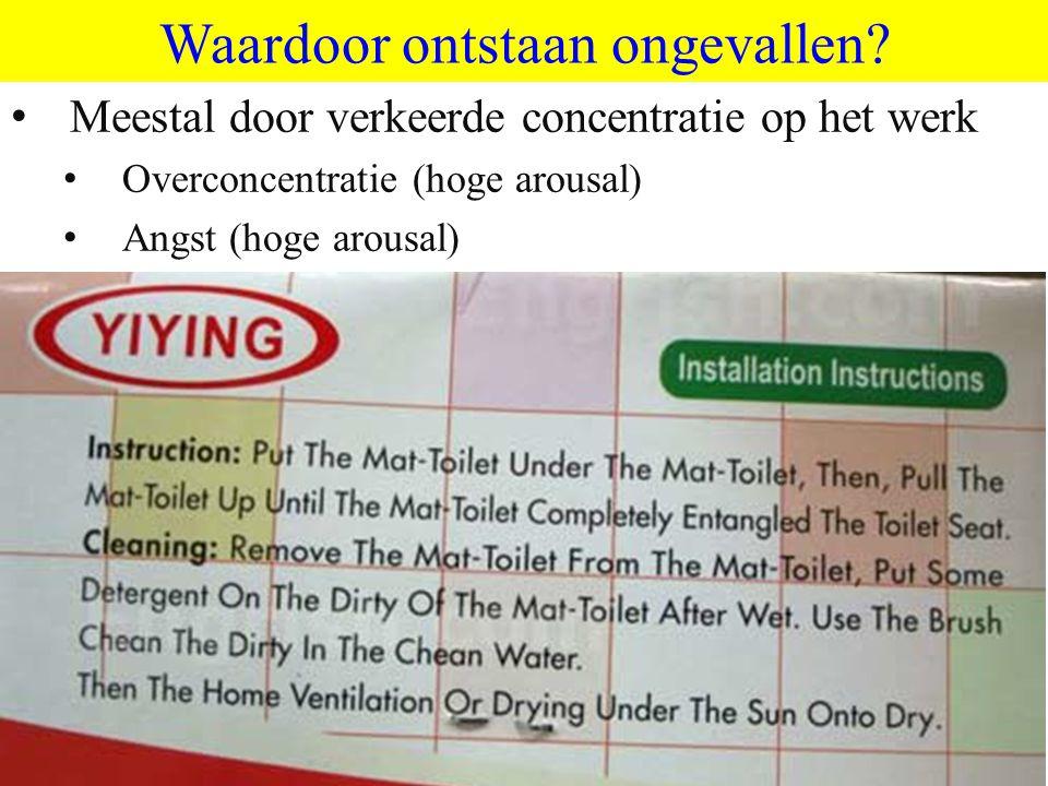 ©vandeSandeinlezingen,2011 Waardoor ontstaan ongevallen.