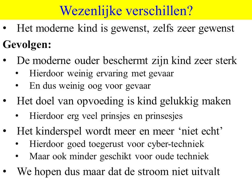 ©vandeSandeinlezingen,2011 Wezenlijke verschillen.