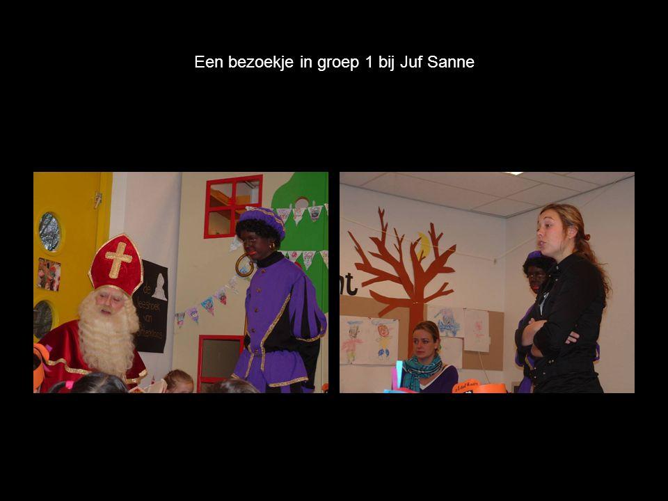 Een bezoekje in groep 1 bij Juf Sanne