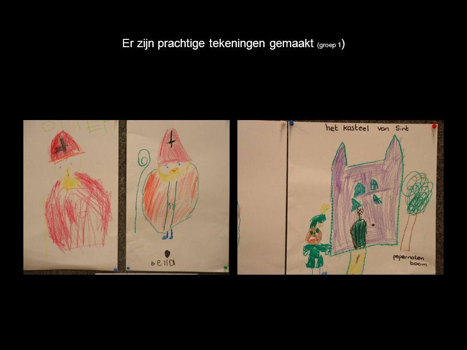 Er zijn prachtige tekeningen gemaakt (groep 1 )