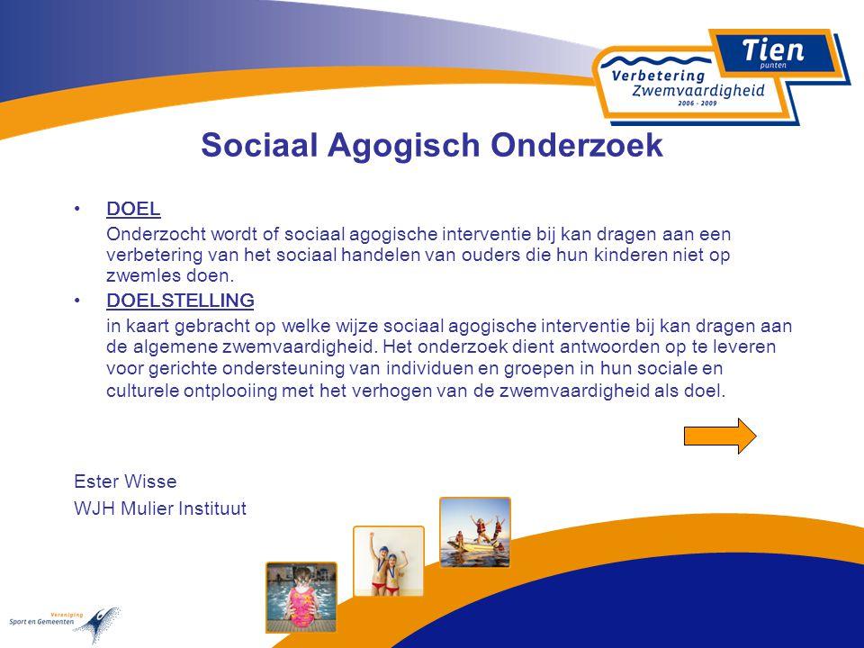 Sociaal Agogisch Onderzoek DOEL Onderzocht wordt of sociaal agogische interventie bij kan dragen aan een verbetering van het sociaal handelen van oude