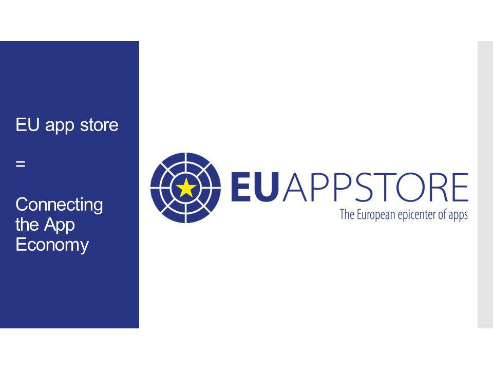 10 EU App Store info, expertise Team App EU ECO system Supply EU App Economy Demand EU Members