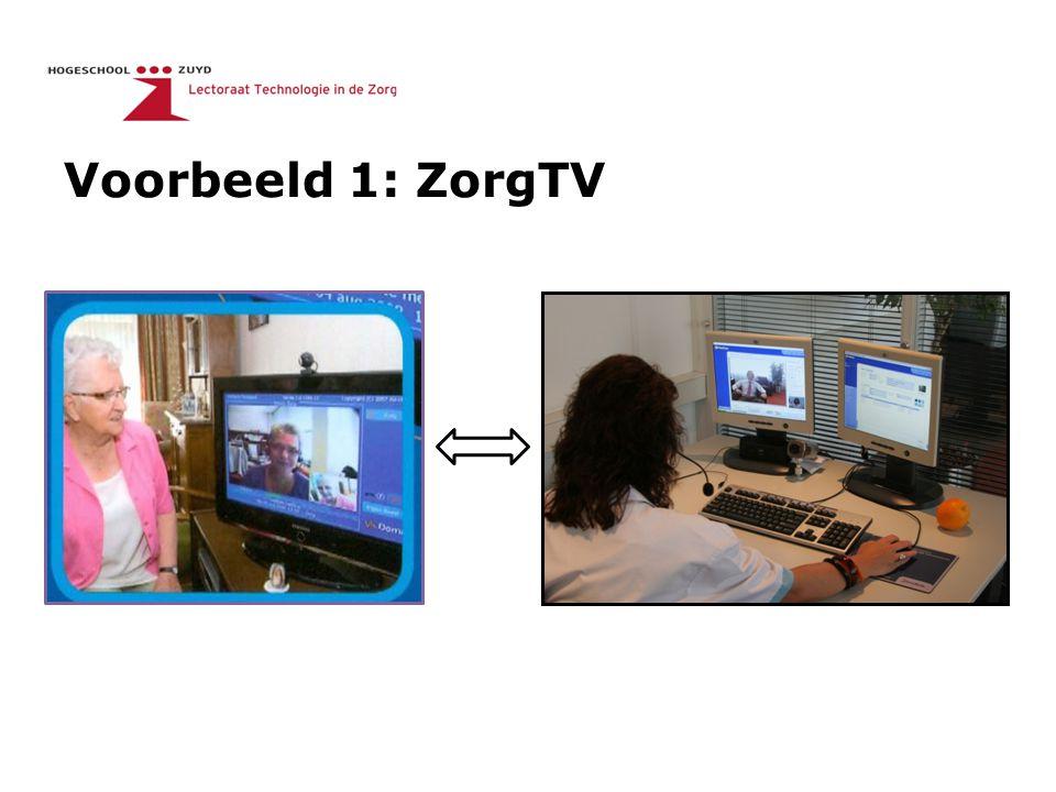 Voorbeeld 1: ZorgTV