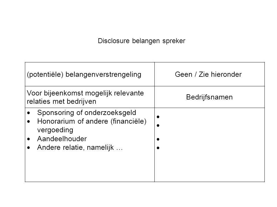 Resultaten vergelijking SDAS behandelaar en SDAS Netwerk 2. Fysieke agressie