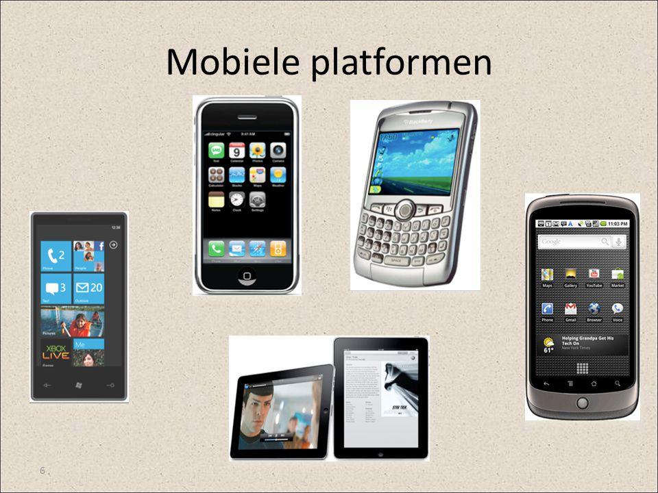 Mobiele platformen 6