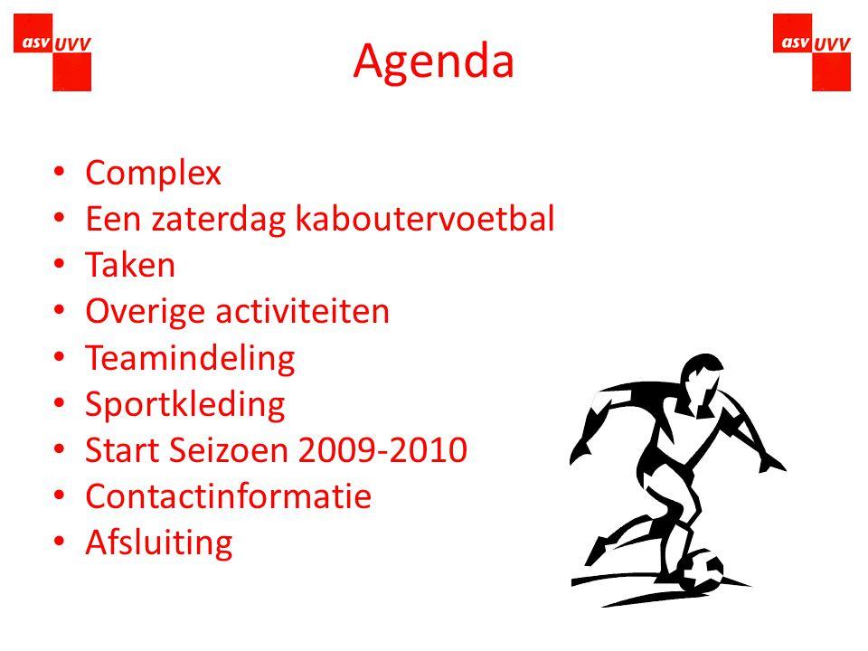 Bijeenkomst Kaboutervoetbal Seizoen 2009-2010 Sportpark Alendorp Parkzichtlaan 201 3544 MN Utrecht