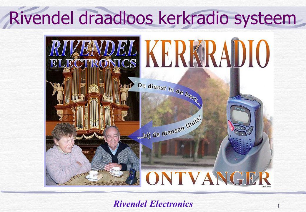 Rivendel Electronics 1 Rivendel draadloos kerkradio systeem