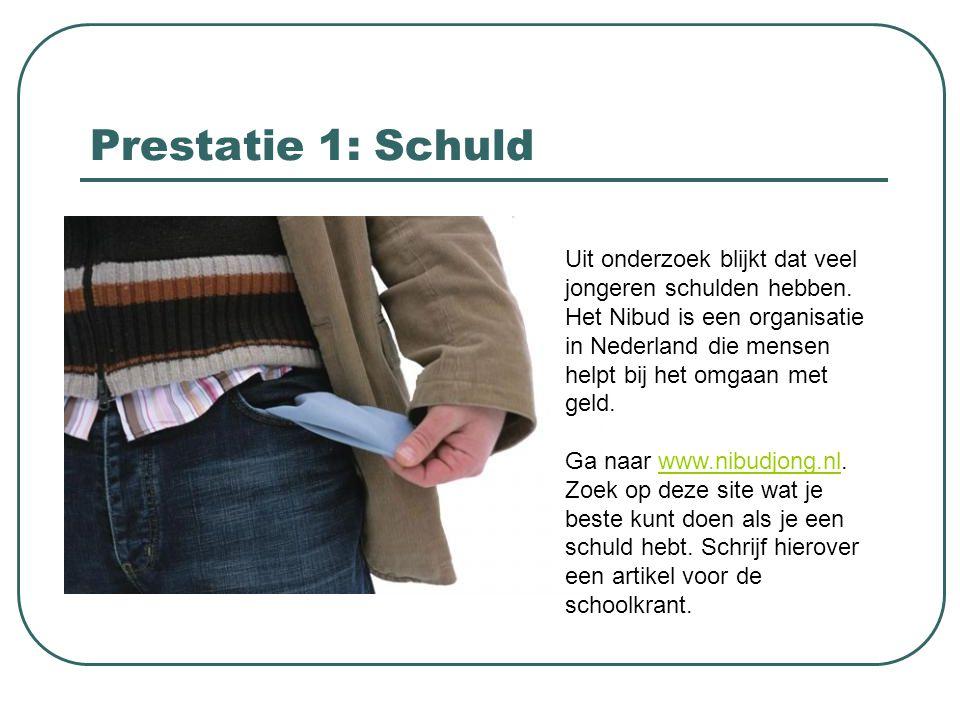 Prestatie 12: Vals geld Schrijf een artikel over de manieren waarop de euro- bankbiljetten beveiligd worden en hoe je vals geld kunt herkennen.