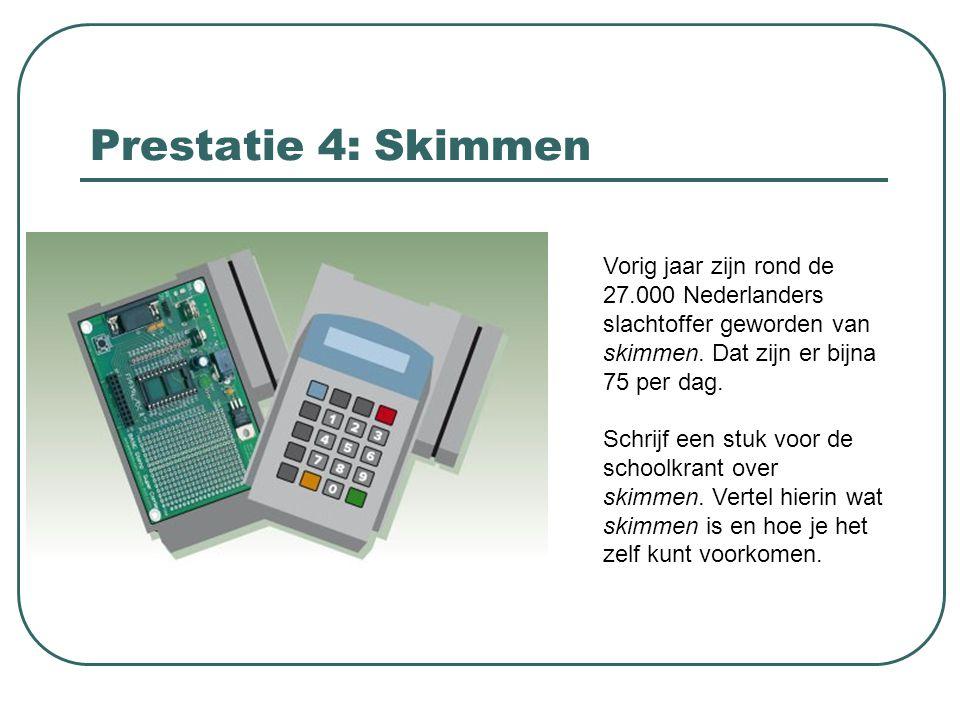 Prestatie 5: Bijbaantjes Welke bijbaantjes zijn er voor scholieren in Amsterdam.